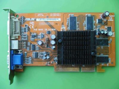 Placa Video Asus Ati 9550 256MB 128biti AGP - ARTEFACTE foto