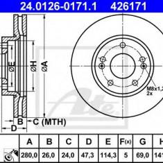 Disc frana KIA RONDO III 1.6 CVVT - ATE 24.0126-0171.1 - Discuri frana REINZ