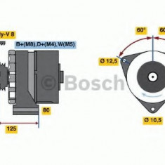 Generator / Alternator MERCEDES-BENZ TOURINO TOURINO - BOSCH 0 120 469 119 - Alternator auto