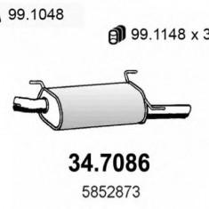 Toba esapament finala OPEL VECTRA B hatchback 1.6 i - ASSO 34.7086 - Toba finala auto