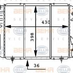 Radiator, racire motor RENAULT 19  1.4 CAT - HELLA 8MK 376 716-191 - Radiator racire LuK