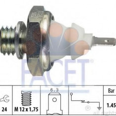 Senzor presiune ulei - FACET 7.0058 - Senzori Auto