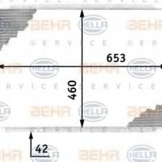 Radiator, racire motor OPEL OMEGA B 2.5 TD - HELLA 8MK 376 718-691 - Radiator racire LuK