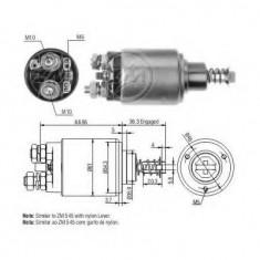 Solenoid, electromotor - ERA 227438 - Solenoid Auto