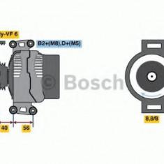 Generator / Alternator MERCEDES-BENZ E-CLASS limuzina E 220 CDI - BOSCH 0 986 043 660 - Alternator auto
