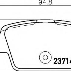 Placute frana ATE FIAT RITMO III 1.4 16V - HELLA 8DB 355 018-851