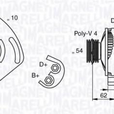 Generator / Alternator FIAT PUNTO 1.2 - MAGNETI MARELLI 063377031010 - Alternator auto