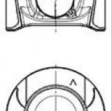 Piston RENAULT MASTER III caroserie 2.3 dCi FWD - KOLBENSCHMIDT 97504620