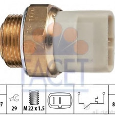 Comutator temperatura, ventilator radiator SEAT MALAGA 1.7 D - FACET 7.5152 - Sistem Racire auto