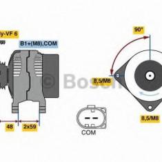 Generator / Alternator AUDI Q5 2.0 TDI - BOSCH 0 986 081 340 - Alternator auto