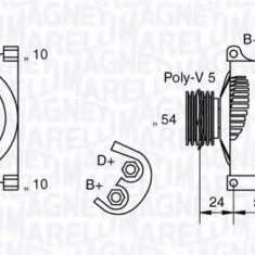 Generator / Alternator FIAT PUNTO 1.2 - MAGNETI MARELLI 063377027010 - Alternator auto
