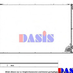 Radiator, racire motor AUDI A8 limuzina 4.2 quattro - AKS DASIS 480045N - Radiator racire KLOKKERHOLM