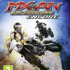 Mx Vs Atv Supercross Encore Xbox One, Curse auto-moto, Multiplayer, 3+