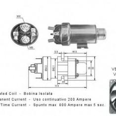 Solenoid, electromotor - ERA 227296 - Solenoid Auto