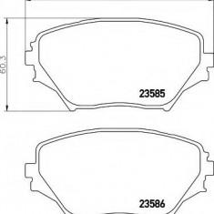 Placute frana ATE TOYOTA RAV 4 Mk II 1.8 VVTi - HELLA 8DB 355 009-741