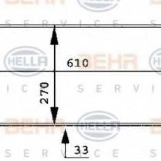Radiator, racire motor PEUGEOT 205  1.0 - HELLA 8MK 376 716-131 - Radiator racire LuK