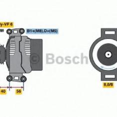Generator / Alternator MERCEDES-BENZ SPRINTER 2-t bus 208 CDI - BOSCH 0 986 043 900 - Alternator auto