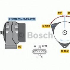 Generator / Alternator MERCEDES-BENZ VARIO cabina cu motor 613 D, 614 D - BOSCH 0 986 048 110 - Alternator auto