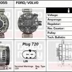 Generator / Alternator FORD MONDEO IV Turnier 2.0 LPG - DELCO REMY DRA0055 - Alternator auto