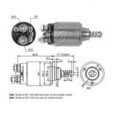 Solenoid, electromotor - ERA 227600 - Solenoid Auto