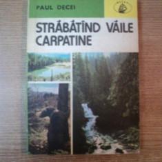 STRABATAND VAILE CARPATINE de PAUL DECEI