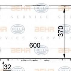 Radiator, racire motor FORD SIERRA hatchback 1.6 - HELLA 8MK 376 707-681 - Radiator racire LuK