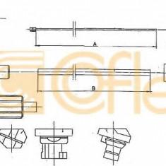 Cablu acceleratie CITROËN LNA 0.6 - COFLE 10.1171