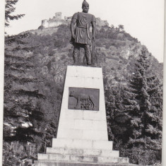 Bnk cp Deva - Statuia lui Decebal - necirculata, Printata