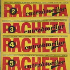 Revista Racheta Cutezatorilor nr. 3-5, 7-9, 12/1971 - Revista scolara