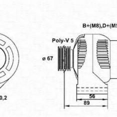 Generator / Alternator ALFA ROMEO 155 1.7 T.S. - MAGNETI MARELLI 943356310010 - Alternator auto