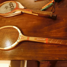 Racheta tenis dunlop vintage - Racheta tenis de camp