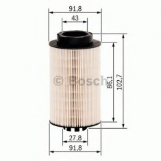 Filtru combustibil Sachs MERCEDES-BENZ VARIO platou / sasiu 613 D, 614 D - BOSCH 1 457 431 707