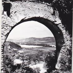 Bnk cp Deva - Vedere de la  cetate - necirculata, Printata