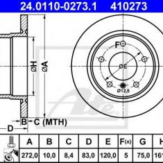 Disc frana BMW Z3 1.9 - ATE 24.0110-0273.1 - Discuri frana REINZ