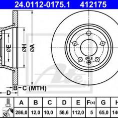 Disc frana AUDI TT 45 TFSI - ATE 24.0112-0175.1 - Discuri frana REINZ