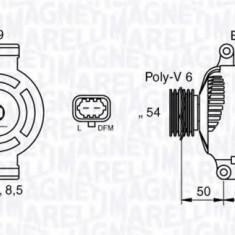 Generator / Alternator OPEL AGILA 1.3 CDTI - MAGNETI MARELLI 063377424010 - Alternator auto