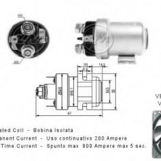Solenoid, electromotor - ERA 227295 - Solenoid Auto