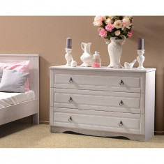 Comoda 3 sertare BLANCA - Comoda dormitor