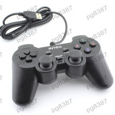 Gamepad cu vibratii, IT-GP02B, Intex - 401106