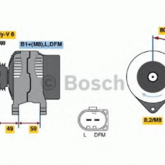 Generator / Alternator SKODA OCTAVIA Combi 1.4 - BOSCH 0 986 041 310 - Alternator auto