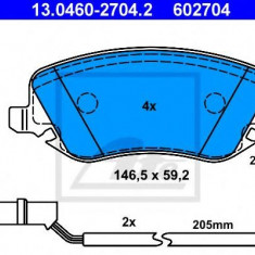 Placute frana REINZ LANCIA THESIS 3.0 V6 - ATE 13.0460-2704.2