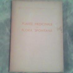Plante medicinale din flora spontana-Farm.C Constantinescu, Ing.Artin Agopian - Carte Medicina alternativa