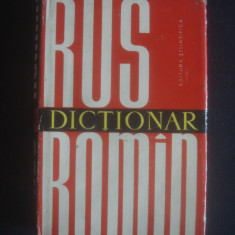 DICTIONAR RUS ROMAN Altele