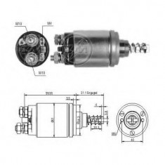 Solenoid, electromotor - ERA 227446 - Solenoid Auto