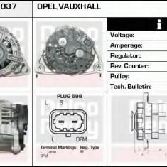 Generator / Alternator OPEL CORSA D 1.0 - DELCO REMY DRA0037 - Alternator auto