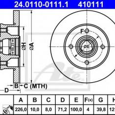 Disc frana VW GOLF Mk II 1.8 - ATE 24.0110-0111.1 - Discuri frana REINZ