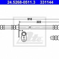 Furtun frana HONDA CIVIC VIII Hatchback 1.4 - ATE 24.5268-0511.3, REINZ