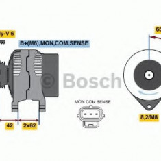 Generator / Alternator FORD FOCUS RS - BOSCH 0 986 044 671 - Alternator auto