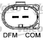 Generator / Alternator MERCEDES-BENZ C-CLASS limuzina C 180 Kompressor - VALEO 440128