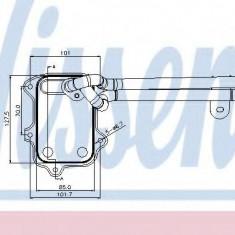 Radiator ulei, ulei motor VW PASSAT 1.4 TSI - NISSENS 90679 - Radiator auto ulei